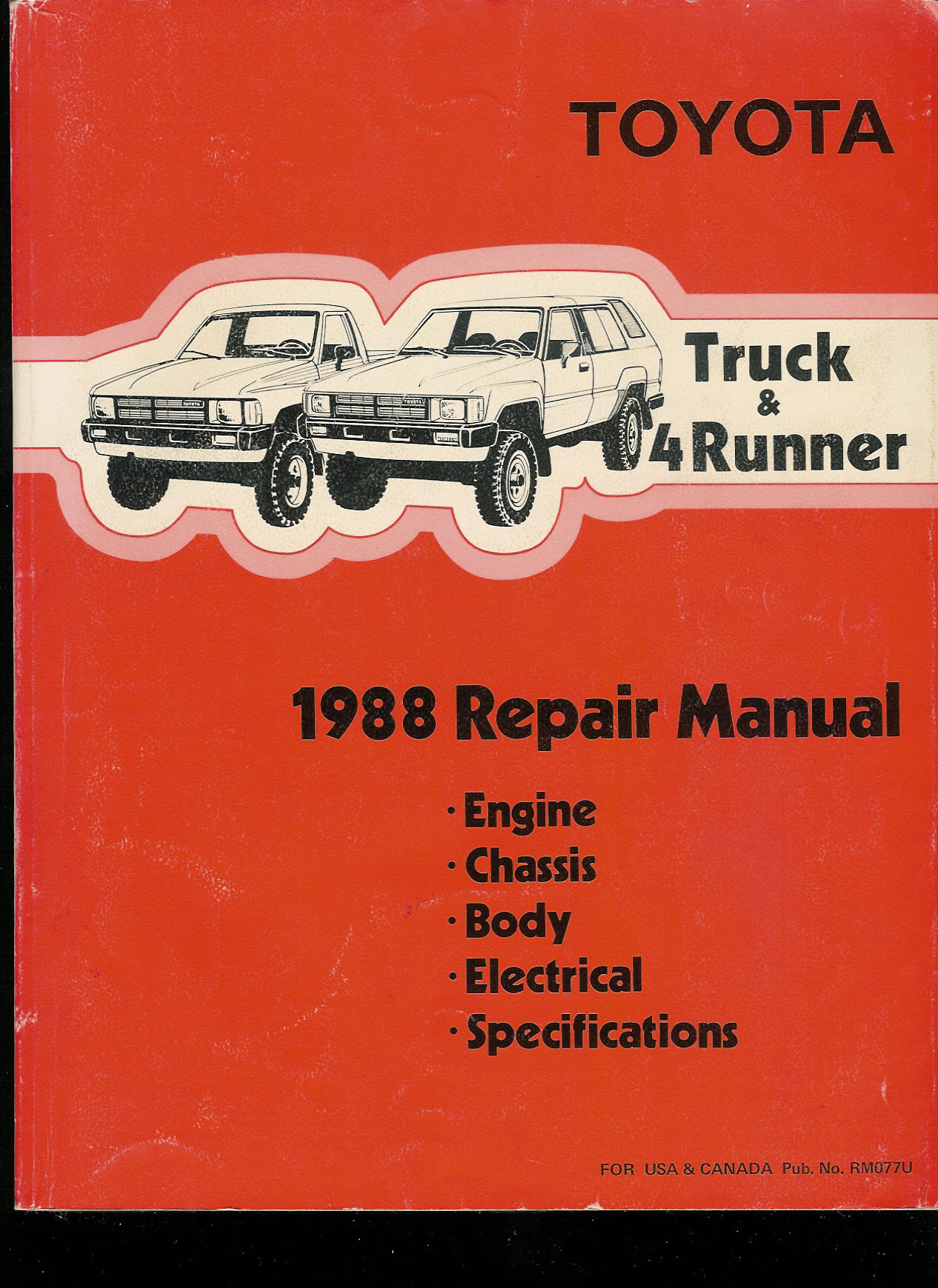 4run toyota trucks where can i get service manuals for my truck rh 4run sr5 com 1995 Toyota Tacoma 1999 Toyota Pickup